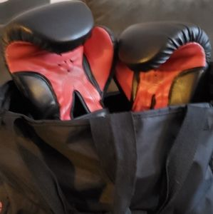 Title One Boxing Gloves w/ wraps